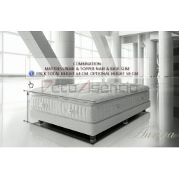 Pack Auriga Mattress Nair & Topper Nair & Slim Base